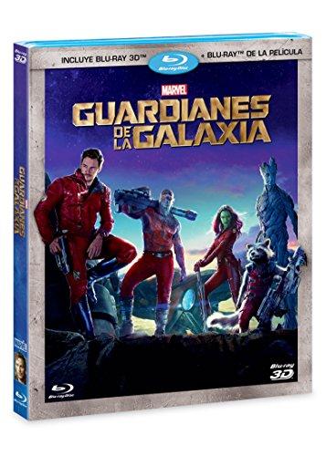 Guardianes de la Galaxia (BR 3D + BR) [Blu-ray]