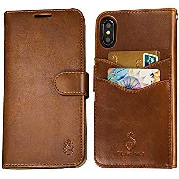reputable site 8f6ad 6d4eb Mens iPhone 6 Wallet Case, iPhone 6s Wallet Phone Cover Folio Flip Cell  Case Leather Case with Detachable Protective PC Box Case Cell Phone Cover  Bag ...