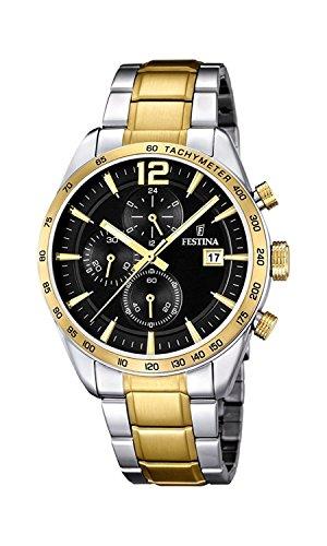 FESTINA watch men's chronograph breath F16761 / 4 Men's [regular imported goods]