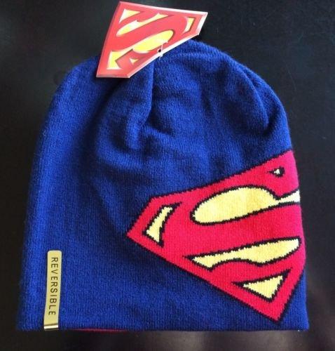 Superman Reversible Beanie Cap]()