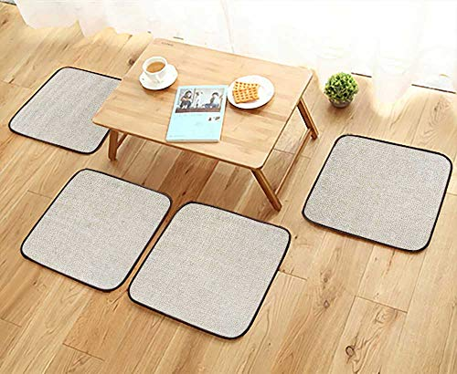 UHOO2018 Universal Chair Cushions Canvas Background Personalized Durable W15.5 x L15.5/4PCS Set - Universal Chaise Cushion Canvas