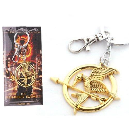 Los Juegos del Hambre - Llavero de metal con logo Keychain ...