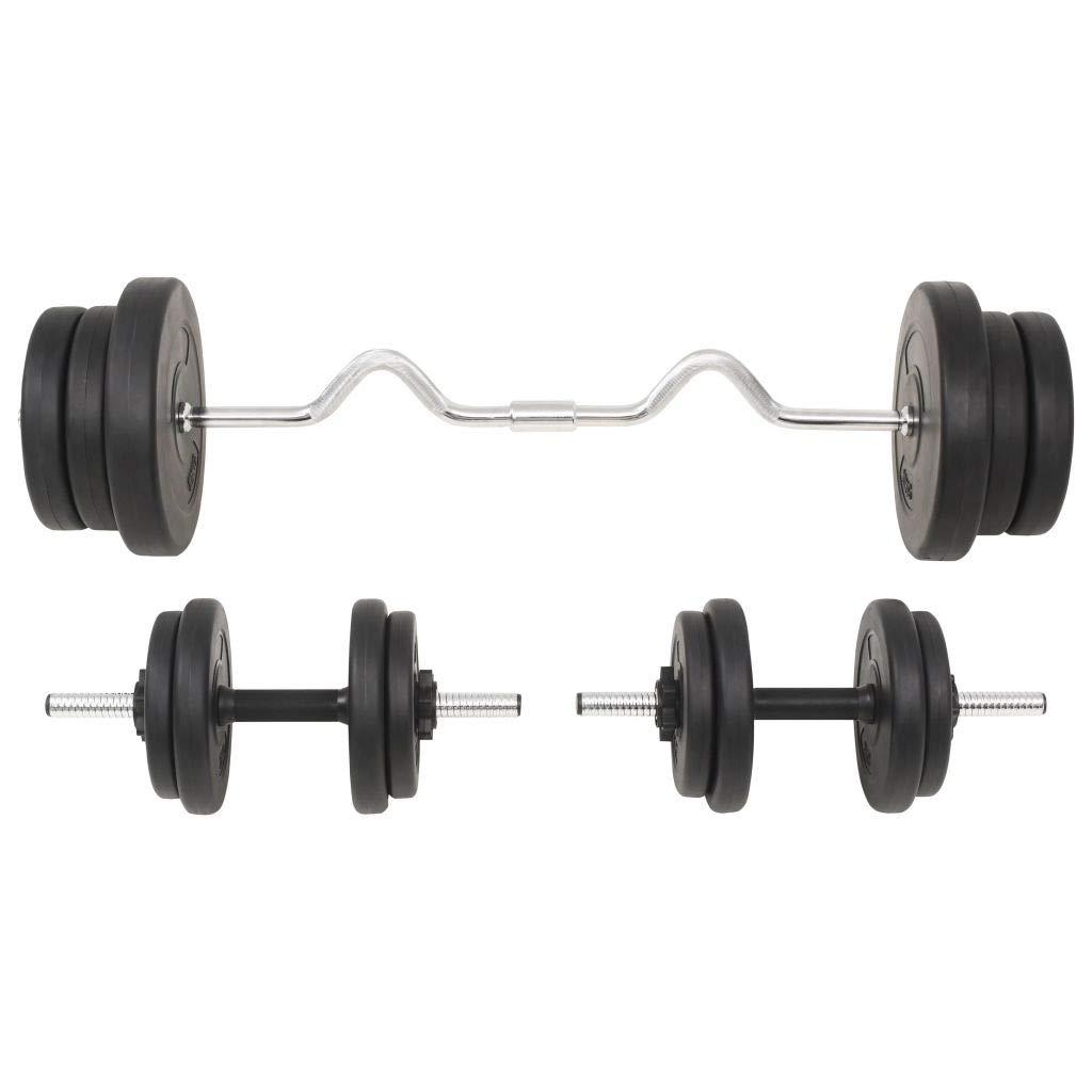 Festnight- Juego de Pesas 60 kg Mancuernas Ajustables para Ejercicios de Gimnasio Doméstico: Amazon.es: Deportes y aire libre