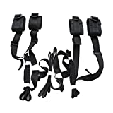 Res traint system kit medical grade velcro adjustable soft wrist and ankle cuffs (0)