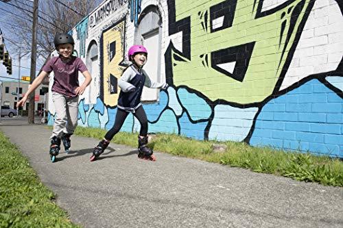 K2 Skate Youth Raider Inline Skates, Gray/Red, Large (4-8)