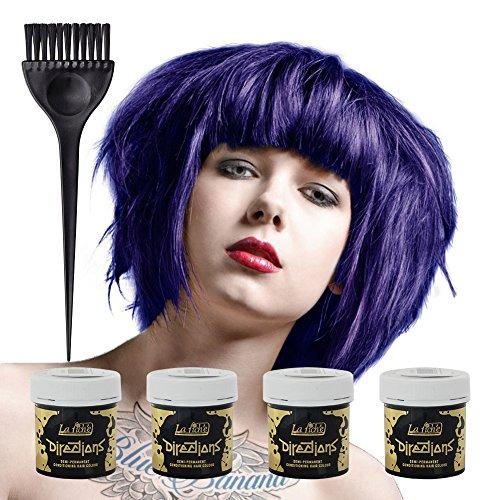 La Riche Directions Colour Hair Dye 4 Pack (Midnight Blue)