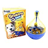 ZTL Cat Dog Tumbler Treat Ball Food Dispenser Toy Pet Leakage Feeder Ball