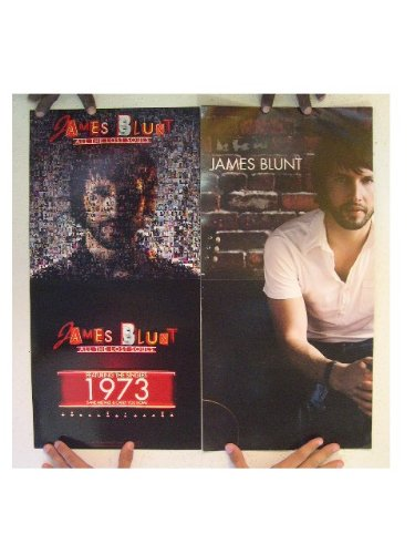 James Blunt Poster All The Lost Souls Two Sided