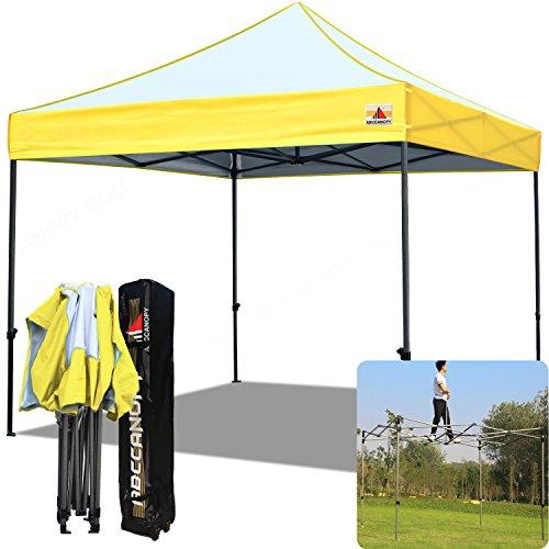 ABCCANOPY Pop Up Canopy Edge Mix Color Canopy Gazebo Shelter