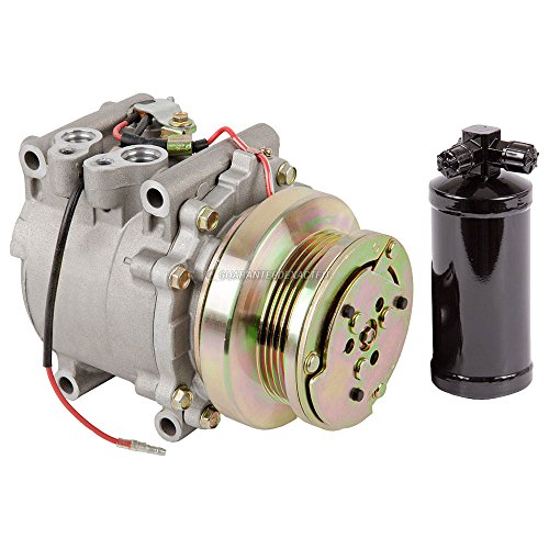 AC Compressor w/A/C Drier For Honda Civic & CRX 1988 1989 1990 1991 - BuyAutoParts 60-86630R2 NEW