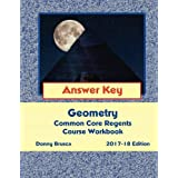 Answer Key: Geometry Common Core Regents Course Workbook: 2017-18 Edition