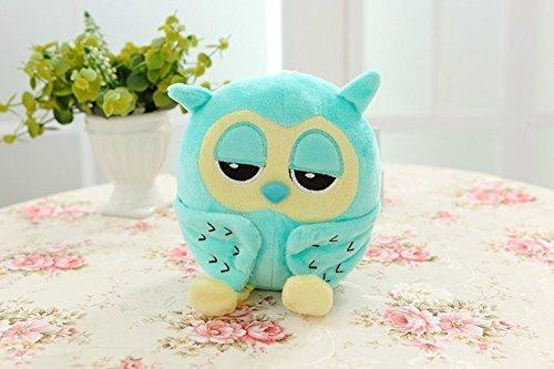 Besttime 20cm Cute Lovely Green Owl Soft Plush Doll