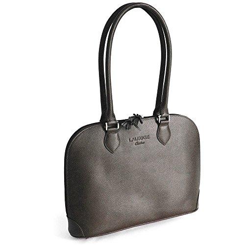 Tasche New York Leder Herstellung Luxe Französische Schwarz - Schwarz
