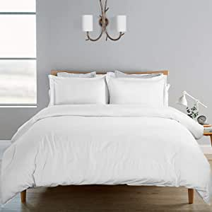 qwqqaq 100/% Cotton Duvet Cover with Zipper Closure,Solid Color Soft Comforter Cover Breathable Fade Resistant Quilt Cover for King Queen Duvets-c 150x200cm 59x79inch