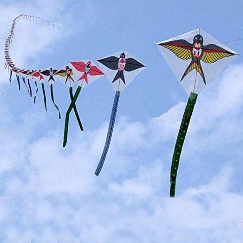 30pc String Swallow Flying Kite Outdoor Mini Flying Kite (Aerial Acrobatics Costumes)