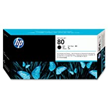 HP C4820A No. 80 Printhead And Cleaner (Black)