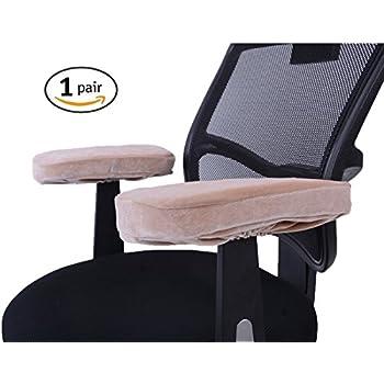 Amazoncom Comforfeel Memory Foam Office Chair Arm Covers