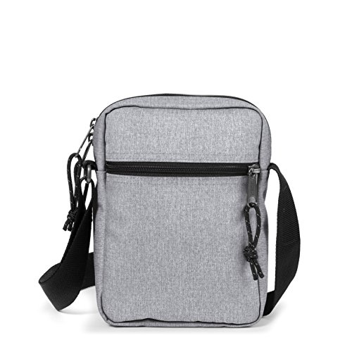Eastpak THE ONE Bolso bandolera, 21 cm, 2.5 liters, Verde (Optical Green) Gris (Grey Rubber)