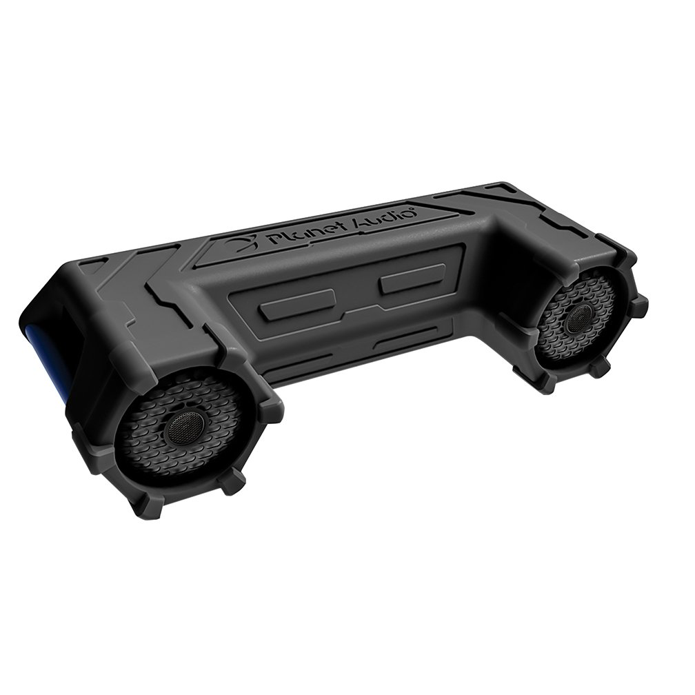 Planet Audio PATV65 Bluetooth, Amplified Sound System, Waterproof Speakers & Tweeters, Bluetooth Remote, Ideal For ATV/UTV by Planet Audio