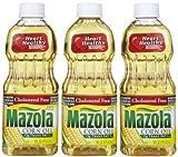 Mazola Corn Oil, 16 oz, 3 Pack (Quantity of 4)