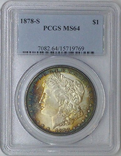 1878 S Morgan $1 MS64 NGC Silver Dollar Old US Coin 90% Silver