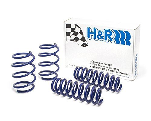 H&R Super Sport Spring with Sport Suspension Drop 1.6F 1.0R BMW 328i Sedan, 335i Sedan F30 - Lower H&r Springs