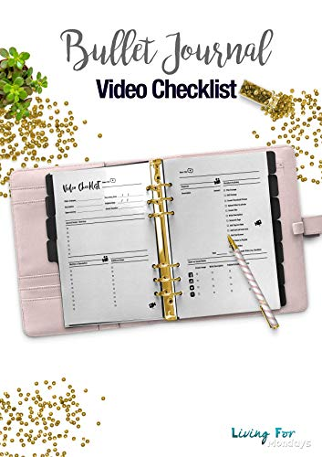 photograph regarding Printable Video known as : Bullet Magazine Movie List / YouTube Planner