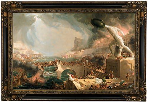 Historic Art Gallery The Course of Empire-Destruction 1836
