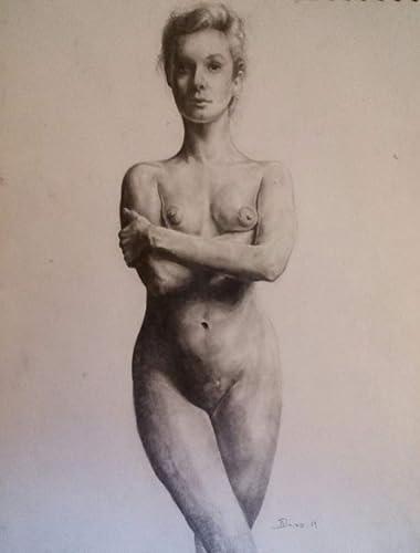 Dibujo Mujer Desnuda Frontal Amazoncommx Handmade
