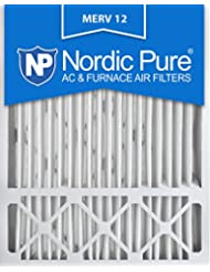 Nordic Pure 20x25x5 Honeywell Replacement AC Furnace Air Filt...