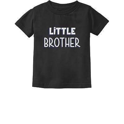 Tstars Little Brother Gift For Siblings New Brother Toddler/Infant Kids T-Shirt