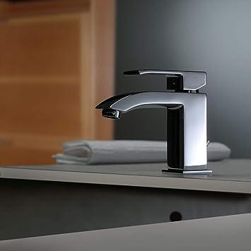 Miscelatore lavabo S//A 1 1//4 leva Standard Cromo LEVEL Paffoni