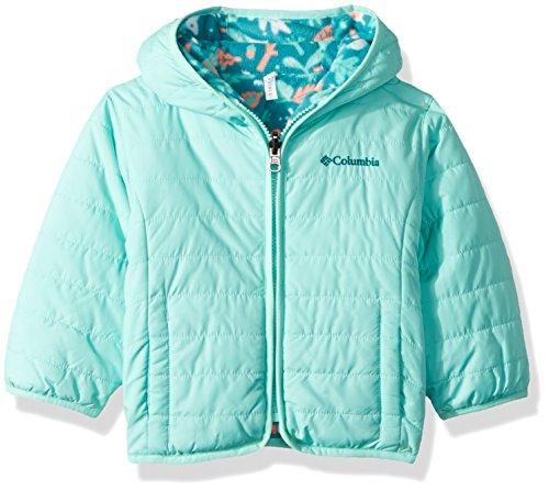 Columbia Kids & Baby Toddler Kids Double Trouble Jacket, Emerald Deers Print, 2T (Girl Winter Columbia Coats)