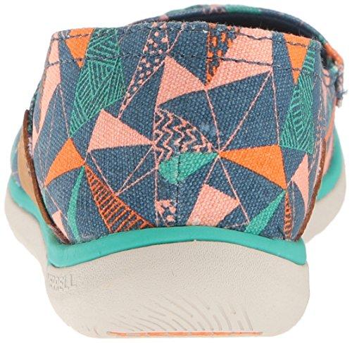 Merrell Womens Duskair Moc Print Fashion Tennisschoen Poseidon