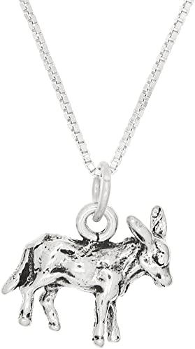 Lgu Sterling Silver Three Dimensional Female Swimmer Necklace