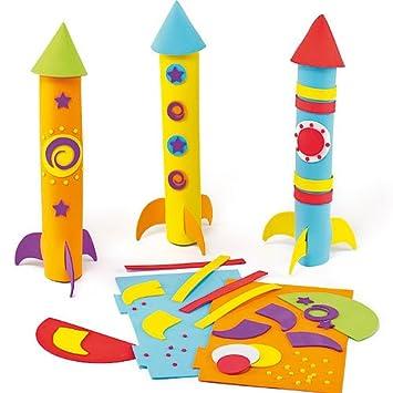 Rakete Basteln Kinder Wasserrakete Rakete Mit