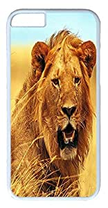 Fantastic Faye Design With PC Mother Children Grass Yellow Brown White Cute Scary Open Mouth Shout Cell Phone Cases For iPhone 6 White Hard Cases No.4