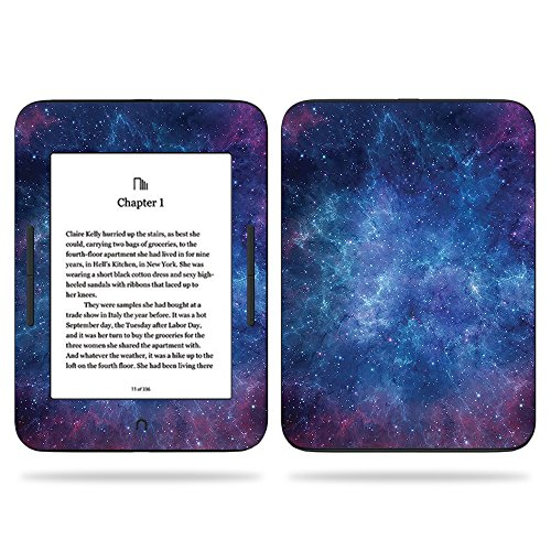 MightySkins Skin Compatible with Barnes & Noble Nook GlowLight 3 (2017) - Nebula | Protective, Durable, and Unique Vinyl Decal wrap Cover | Easy to Apply, Remove, and Change Styles | Made in The USA