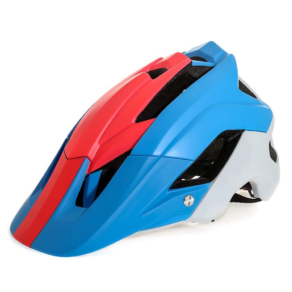KYX-GAOMOUREN Fahrradhelm Rennrad Integrierter Form Helm Helm