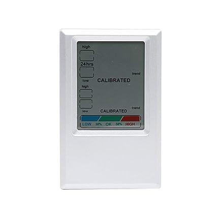 fgyhtyjuu CJ3308D estación meteorológica del LCD Digital termómetro higrómetro MAX/MIN electrónico de la Temperatura
