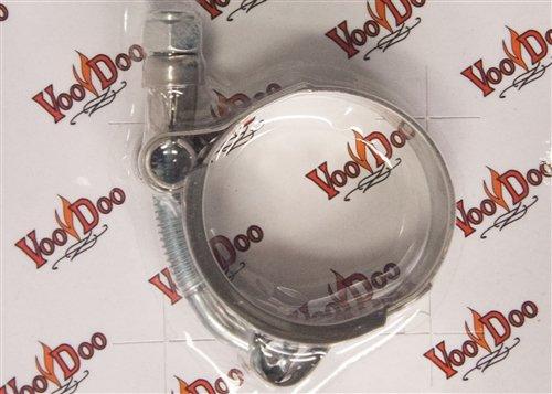VooDoo Industries C175 Silver Exhaust Clamp