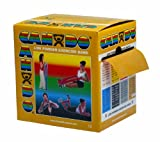 CanDo Low Powder Exercise Band, 50 yard roll, Gold: XXX-Heavy