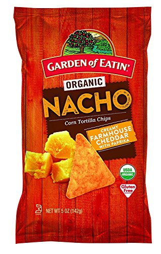 Garden of Eatin' Nacho Cheese Corn Tortilla Chips, 5 oz. (Pack of - Nacho Chips Cheese