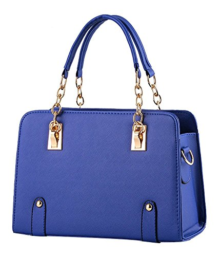 ILISHOP Women's New Fashion Shoulder Bags Top-handle Bags For Ladies Casual Cross-body Bags For Teens Hot Sale - Blue Purse