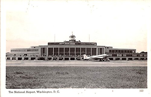 National Airport Washington, Washington DC postcard