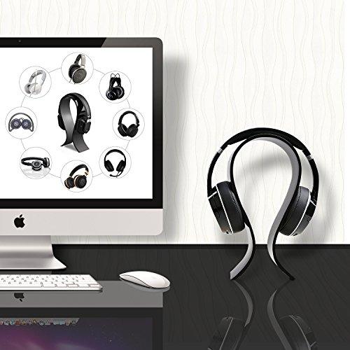 51s0Ktaxv5L - AmoVee-Acrylic-Headphone-Stand