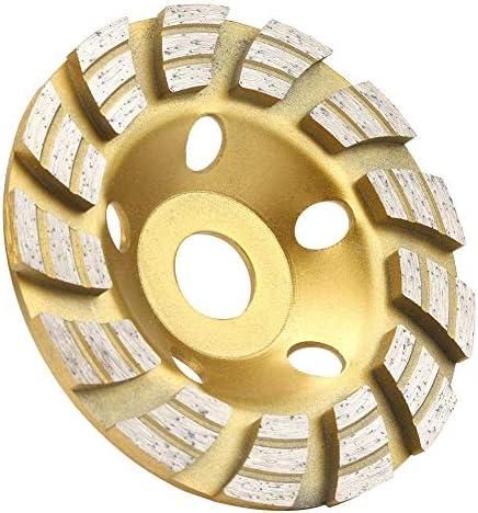 125x22.2mm砥石カップディスク、ダイヤモンドセグメント砥石カップコンクリート大理石御影石用砥石カップカッティングディスク、パワーロータリーツールカッティングホイール