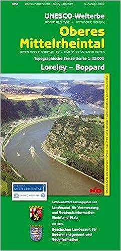 Mittelrheintal Karte.Unesco Welterbe Oberes Mittelrheintal Loreley Boppard Wr