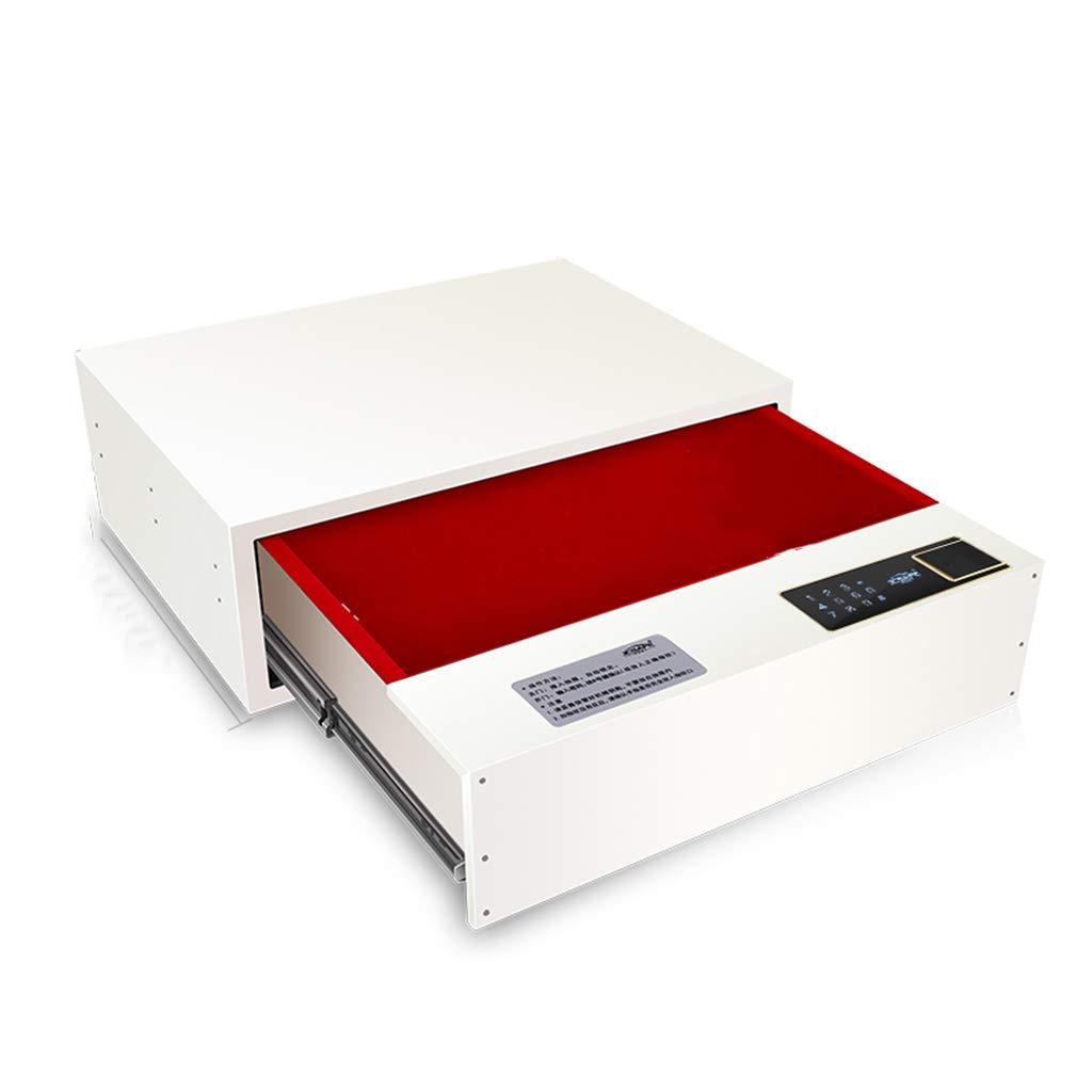 電子式ホームセーフ(中程度)すべてのスチール隠し引き出し収納キャビネット小型ミニクローゼットセーフ 防犯用品 (Color : 48 16cm) 白, Size : 白 48* 40* 16cm) 48*40*16cm 白 B07JVDSF6R, セレクトビオ:b5feb130 --- loveszsator.hu