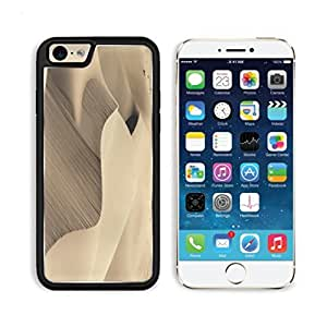 Desert Dunes Sand Hot Climate Apple iPhone 6 TPU Snap Cover Premium Aluminium Design Back Plate Case Customized Made to Order Support Ready Luxlady iPhone_6 Professional Case Touch Accessories Graphic Covers Designed Model Sleeve HD Template Wallpaper Pho